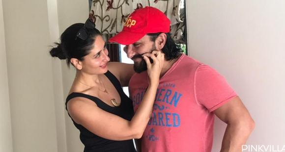 PHOTOS: Kareena Kapoor Khan and Saif Ali Khan look adorable in these pictures as they indulge in PDA - PINKVILLA