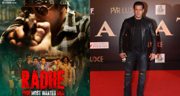 Salman Khan adds to excitement ahead of Radhe Trailer release with a new intense poster; Says 'Aa Raha Hoon'
