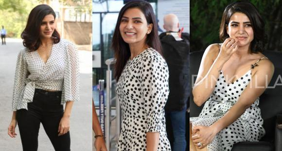 Samantha Akkineni can take polka dots from fun to flirty and THESE 6 looks prove it