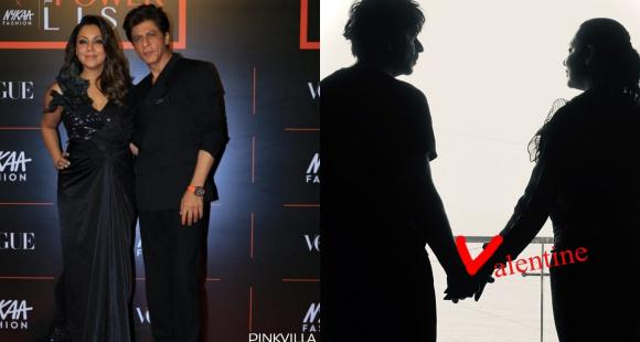 Shah Rukh Khan's witty take on Valentine's Day after 36 years with Gauri Khan is winning hearts; See PHOTO