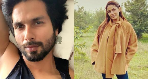 Shahid Kapoor begins his weekend by acing a messy hair look and wife Mira Rajput is all hearts for it; See Pic