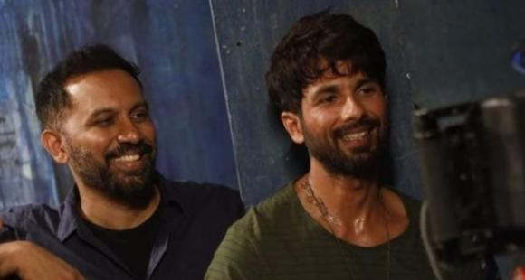 Shahid Kapoor needs director Raj a contented birthday; Shares BTS PICS from his debut internet sequence