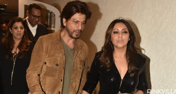 PHOTOS: Shah Rukh Khan and Gauri Khan make heads turn as they attend an event together