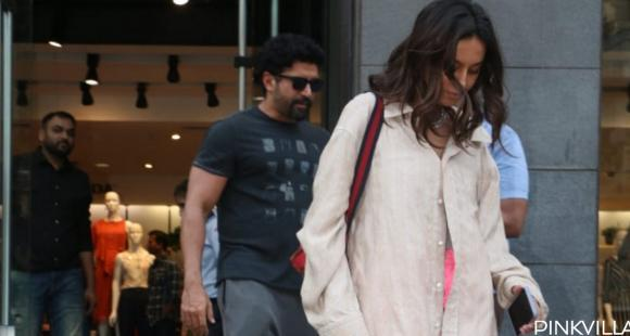 PHOTOS: Farhan Akhtar and Shibani Dandekar spend some quality time over the weekend as they head out together