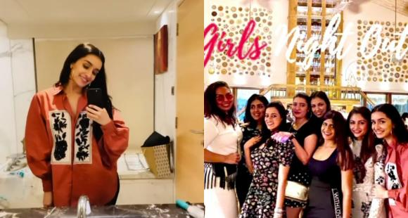 Shraddha Kapoor flaunts her love for an oversized shirt as she dolls up for a fun 'Girls night out'; PHOTOS - PINKVILLA
