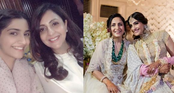 Sonam Kapoor showers birthday love on mother in law Priya Ahuja: We're so grateful for you and your love - PINKVILLA