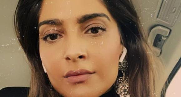 PHOTO: Sonam Kapoor amps up the makeup game in her latest selfie as she leaves for some unknown destination
