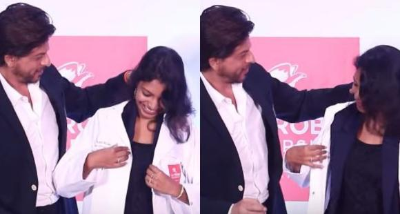 Shah Rukh Khan honours Indian PhD student and his female fans are floored by his 'gentleman' gesture