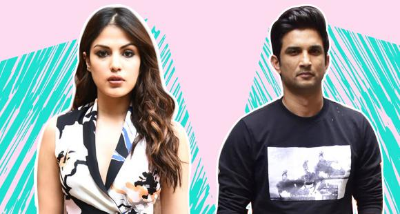 Sushant Singh Rajput, Rhea Chakraborty's unseen video with mystery man surfaces; Actor seen drawing flowchart - PINKVILLA