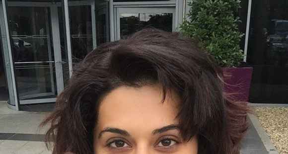Taapsee Pannu chops off hair after purple hair experiment goes wrong; Fans hail her as the original Rockstar