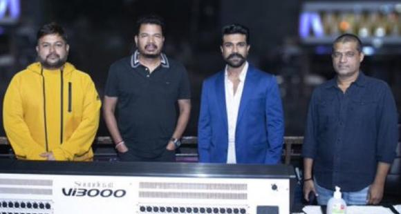 S Thaman to compose music for Shankar & Ram Charan's pan Indian film RC15; Says 'Happy to be part of the team'