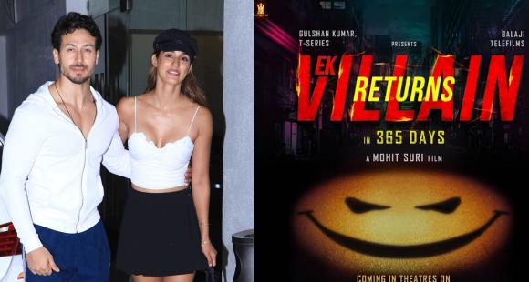 Ek Villain Returns: Tiger Shroff excited for Disha Patani's next as makers release first look of the movie - PINKVILLA