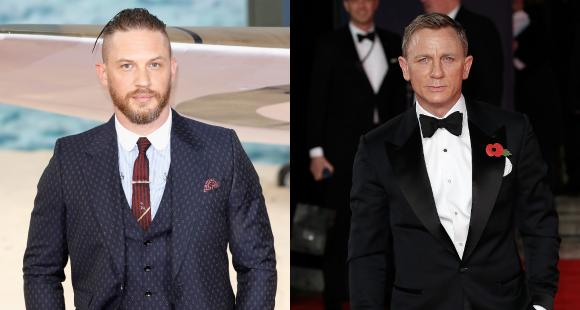 Tom Hardy to REPLACE Daniel Craig as MI6 agent James Bond after the latter's upcoming film No Time to Die?