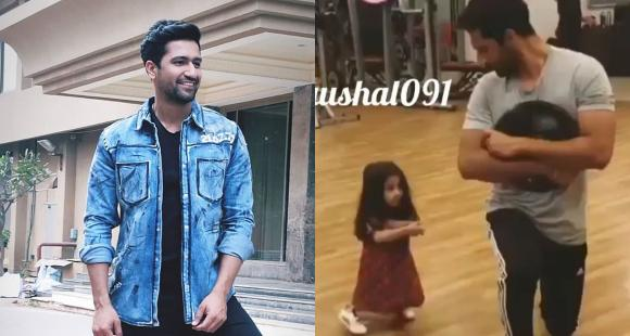 Vicky Kaushal working out with his little gym partner is beyond adorable and worth a watch; Check it out