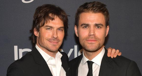 When Paul Wesley called his The Vampire Diaries co star Ian Somerhalder from the sets of Legacies