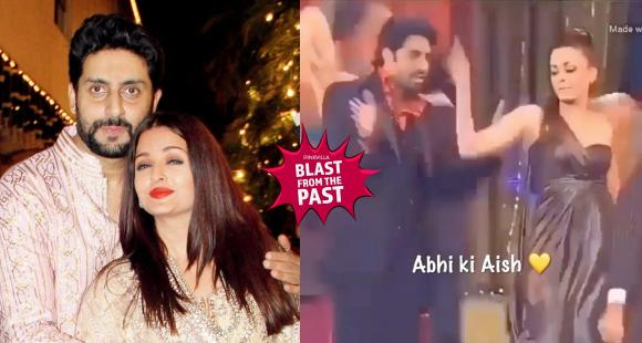When Abhishek Bachchan took Aishwarya Rai Bachchan on stage for a dance and the actress nailed it like a pro