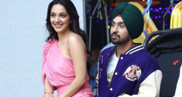 When Diljit Dosanjh promoted his movie wearing a Gucci jacket worth more than 4 Lakh pricey Versace shoes