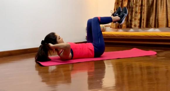 Workout at Home: 15 minute exercise routine for working professionals