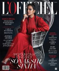 Magazine Covers,sonakshi sinha,june issue,L'Officiel Latest Cover