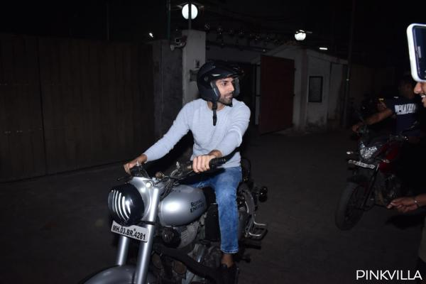 PHOTOS: Sonakshi Sinha to Kartik Aaryan, here's a look at the B town stars riding on bike around the city