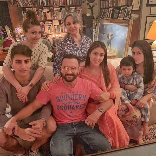 PHOTOS: Sara Ali Khan and Taimur Ali Khan's awwdorable moments will melt your heart; Check it out