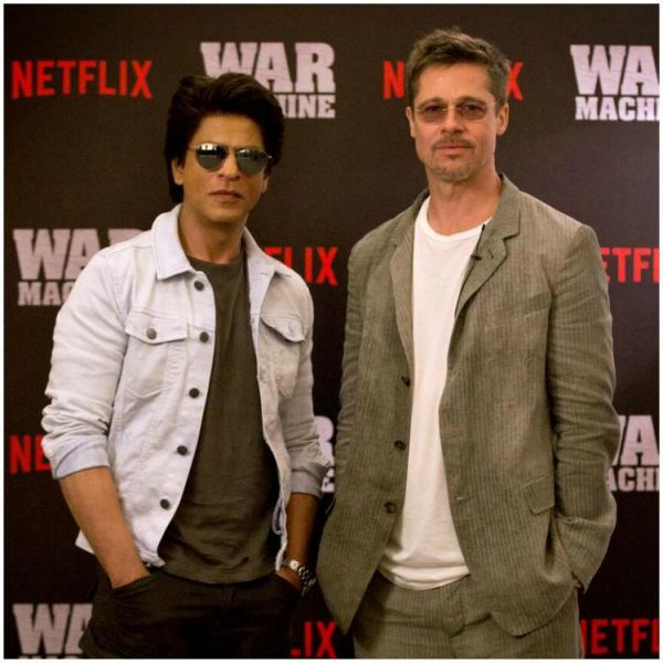 Shah Rukh Khan's pictures with THESE Hollywood biggies are unmissable; Check it out