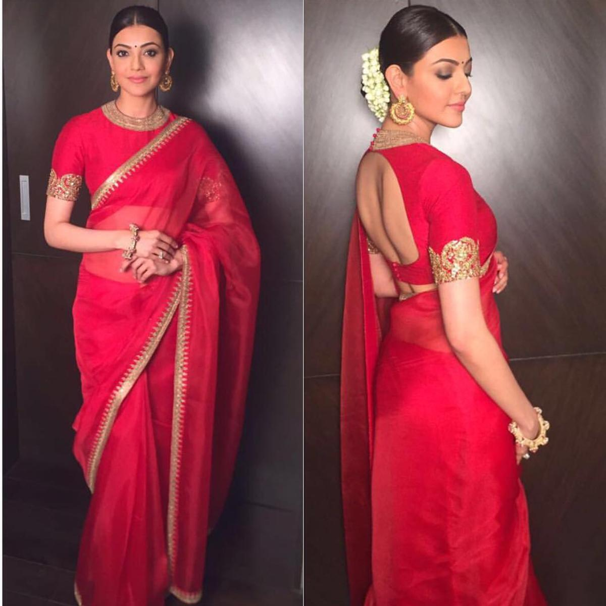 PHOTOS: 8 looks from Kajal Aggarwal's saree collection that we are ...
