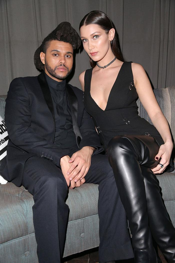 Who has the weeknd dated