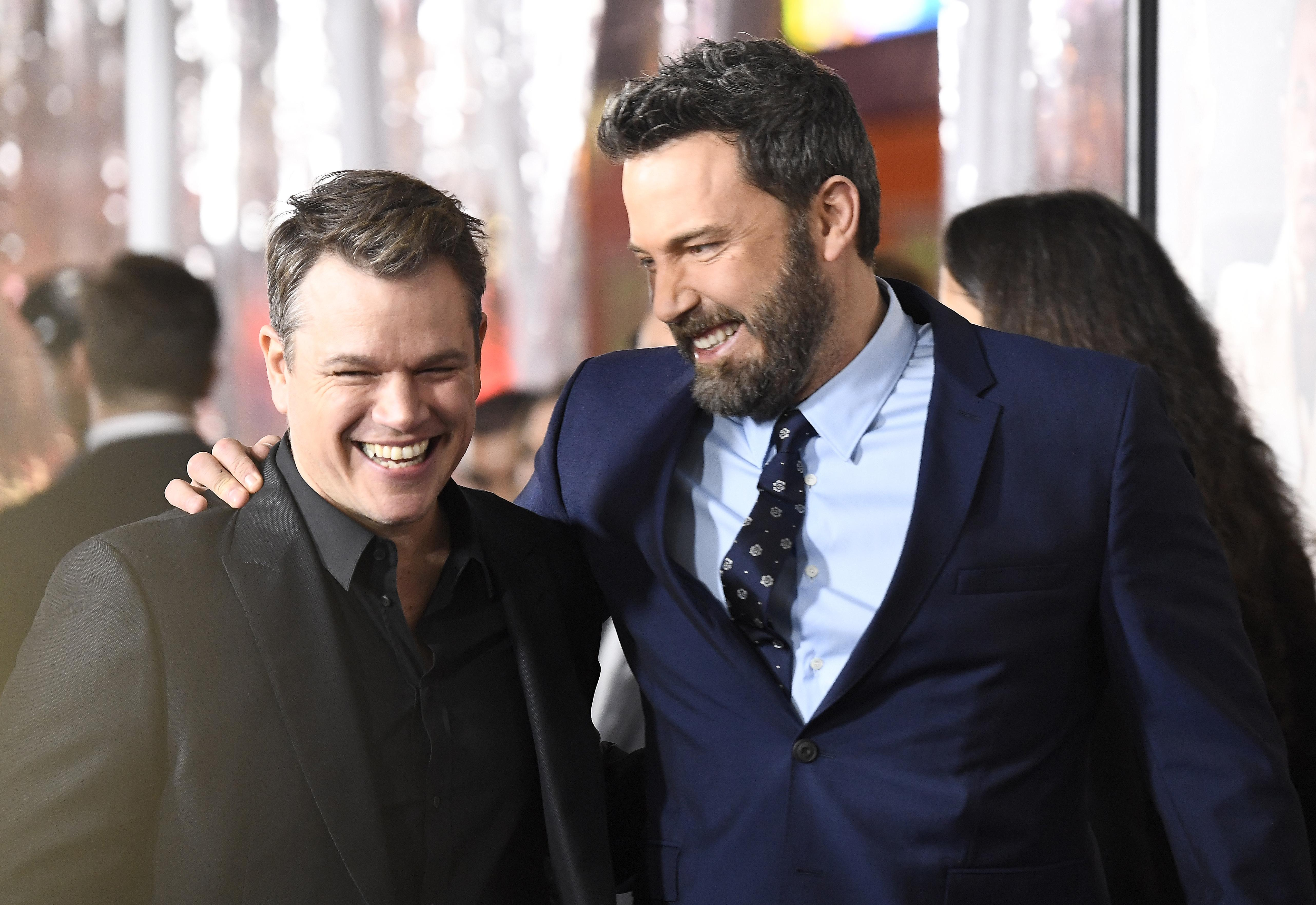 Ben Affleck and Matt Damon have remained close friends since over 40 years