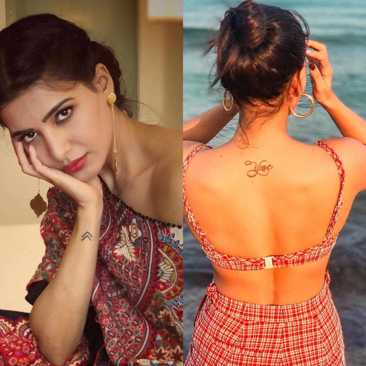PHOTOS: Samantha Akkineni's amazing tattoos and their meaning DECODED