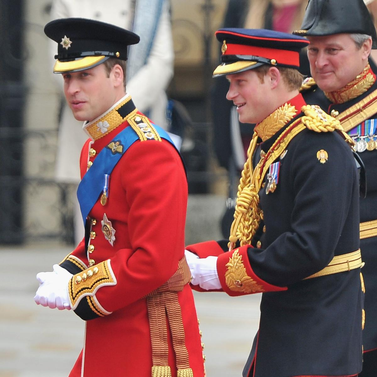 Prince William and Prince Harry were one another's best man at their weddings