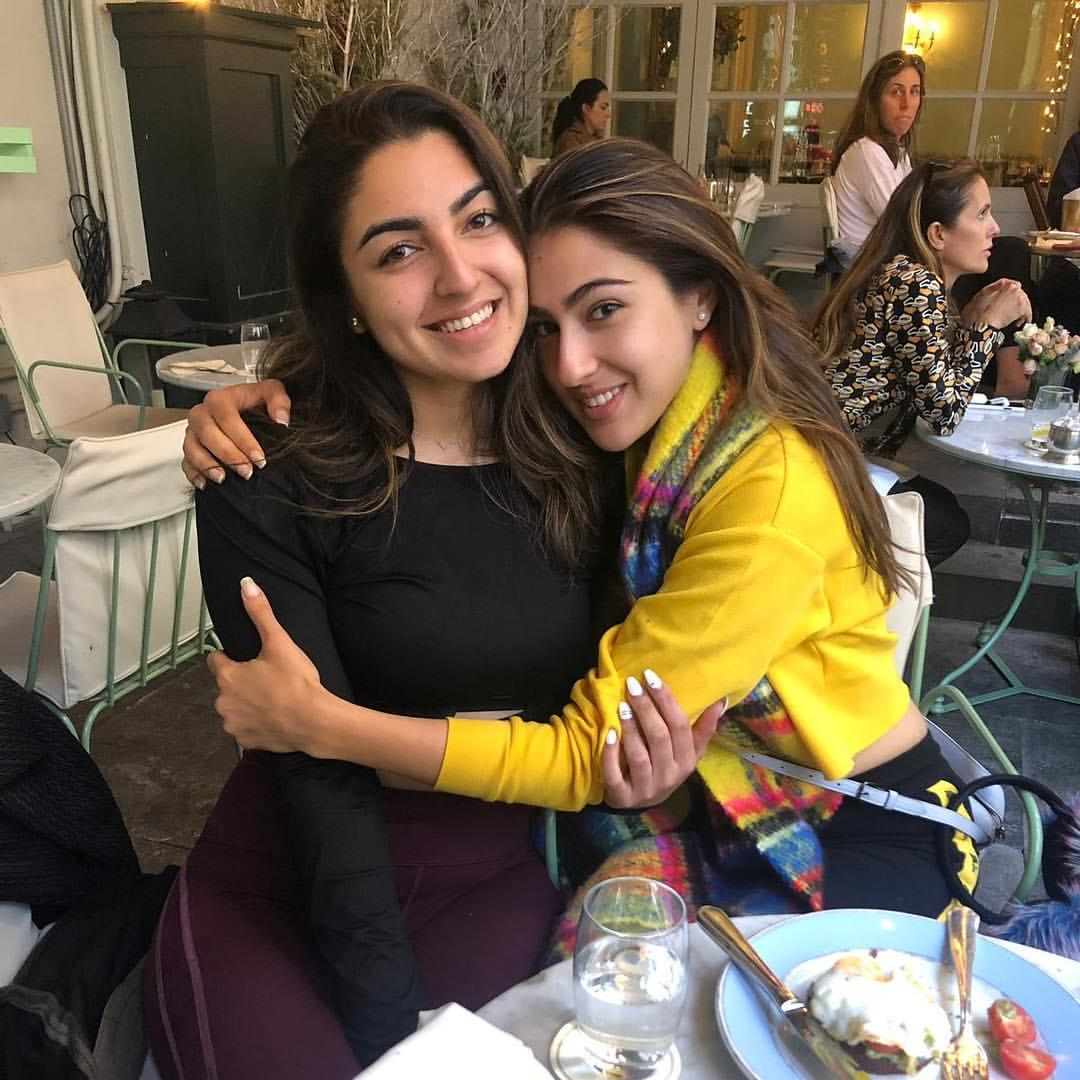 Sara Ali Khan's THESE photos with her best friend will make you miss your bestie; Check it out
