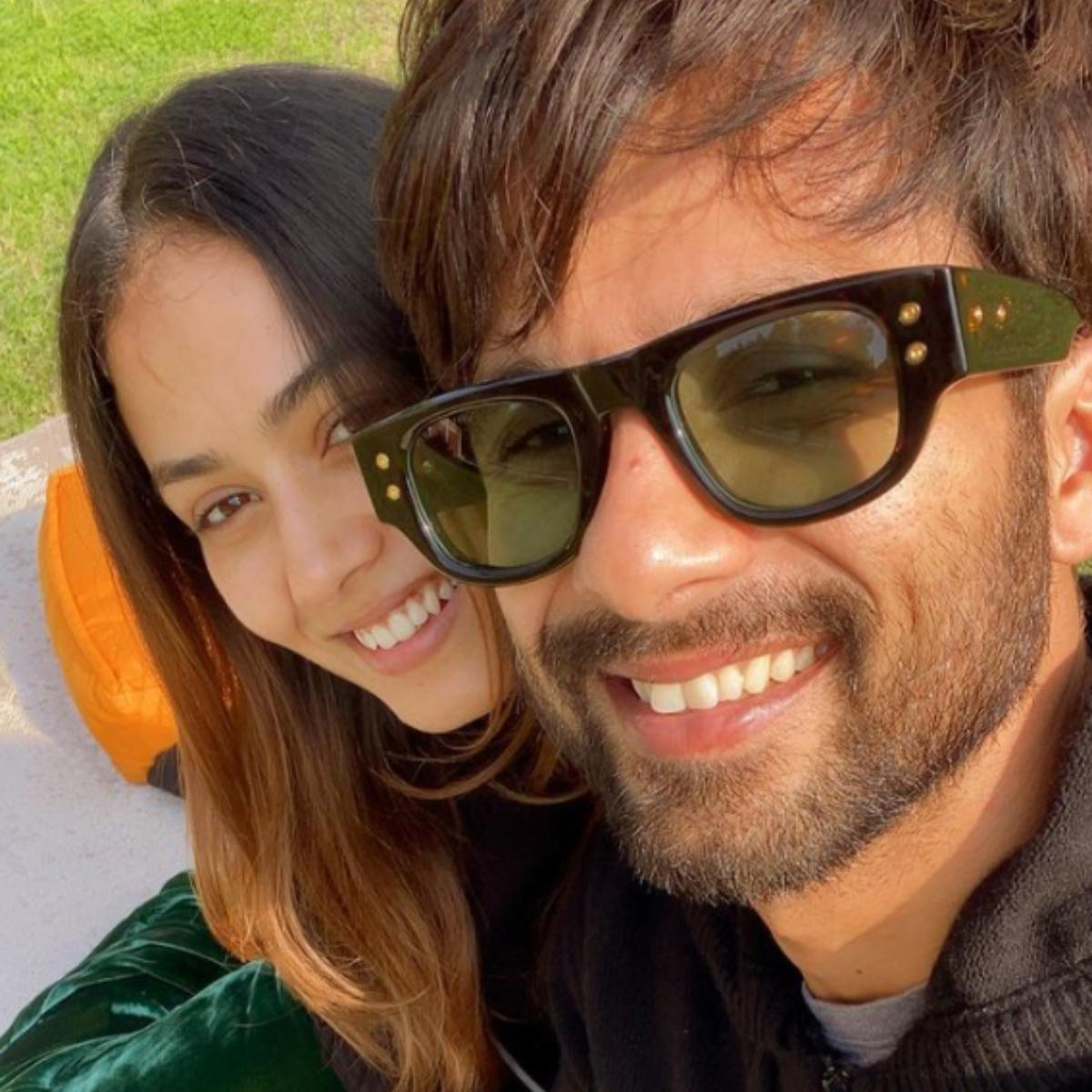 Shahid Kapoor and Mira Rajput's selfies