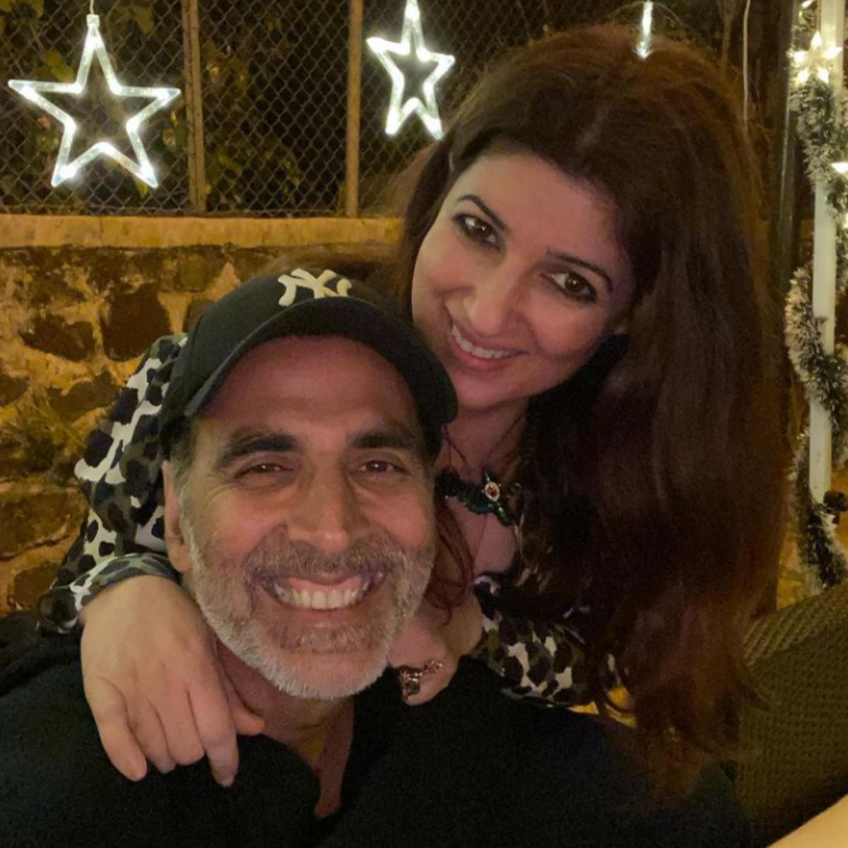 Twinkle Khanna and Akshay Kumar's adorable pictures