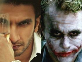 News,Ranveer Singh,Bajirao Mastani,Befikre,Padmavati,Heath Ledger,heath ledger joker