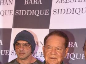 Photos,sohail khan,Salim Khan,Baba Siddique,Iftar Party