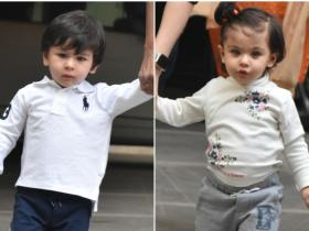 Photos: Taimur Ali Khan and Inaaya Naumi Kemmu are time and again proving they are the cutest cousins duo