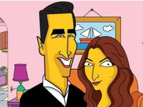 News,akshay kumar,twinkle khanna,the simpsons