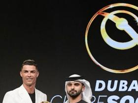 Cristiano Ronaldo crowned as Best Men's Player of the Year at Globe Soccer Awards