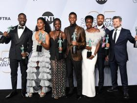 Chadwick Boseman,Kevin Feige,ryan coogler,Hollywood,Black Panther 2,D23 Expo