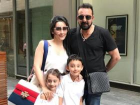 News,Sanjay Dutt,Maanayata Dutt,Father's Day