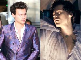 Celebrity Style,Harry Styles,harry styles falling,harry styles purple outfits