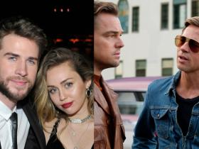 Leonardo DiCaprio,taylor swift,Robert Downey Jr,Liam Hemsworth,Miley Cyrus,Once Upon A Time In Hollywood,Hollywood