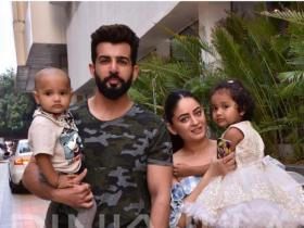 Jay Bhanushali worked hard in gym for his debut