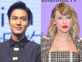 taylor swift,Hollywood,The King: Eternal Monarch,Lee Min Ho