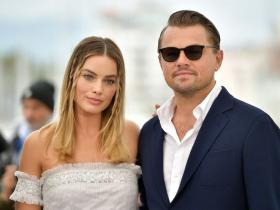 Leonardo DiCaprio,the wolf of wall street,Once Upon A Time In Hollywood,margot robbie,Hollywood