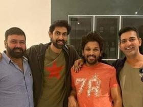 rana daggubati,Allu Arjun,South