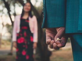 Love & Relationships,couple,marriage proposal,engagement