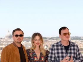 Leonardo DiCaprio,Quentin Tarantino,Once Upon A Time In Hollywood,margot robbie,Hollywood