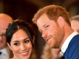 Meghan Markle & Prince Harry post a birthday message for Prince Louis amidst the Baby Sussex birth rumours